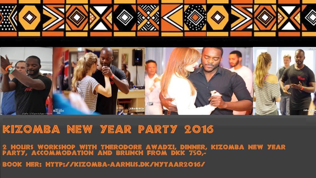 Kizomba New Year 2016 Theodore awadzi