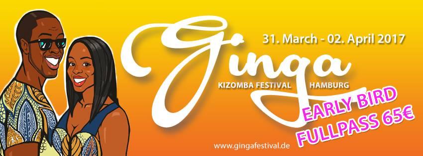 Kizomba-Aarhus goes to GINGA Festival Hamburg 2017