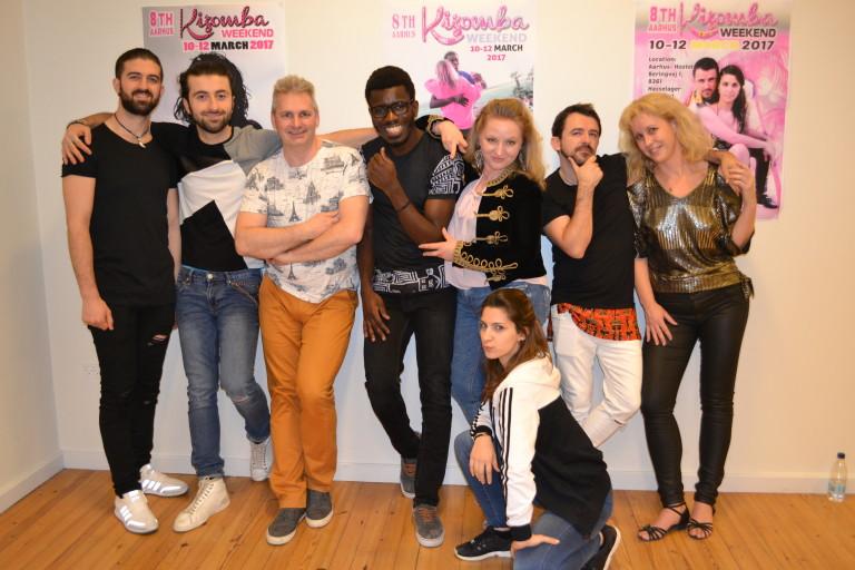 The Crew – 8TH Aarhus Kizomba weekend